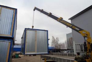 Металлический блок-контейнер в Москве