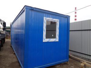 Блок-контейнер из сандвич панелей в Москве