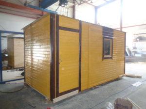 Производство дачных деревянных бытовок в Москве